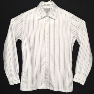 Guess Jeans mens slim fit long sleeve button shirt